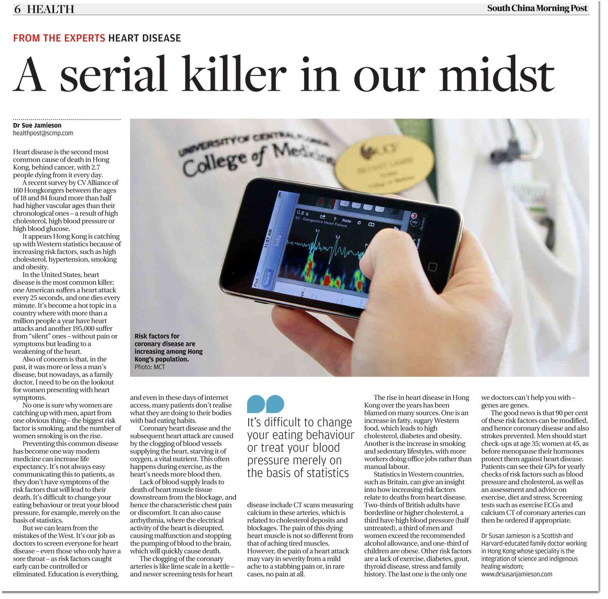 Heart Disease - South China Morning Post