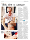 Rolfing article - South China Morning Post