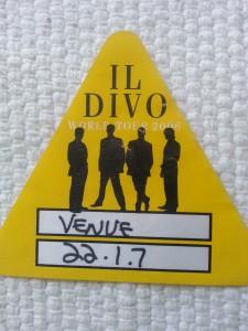 Il Divo- tour date