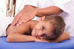 Massage therapy for children