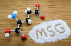 monosodium glutamate or MSG is commonly added to snack foods