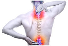 Osteopaths often treat back pain and other chronic pain