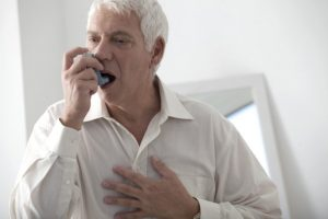 COPD - inhalers can help with symptoms of lung disease